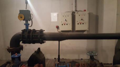 Монтаж и подключение электропривода
