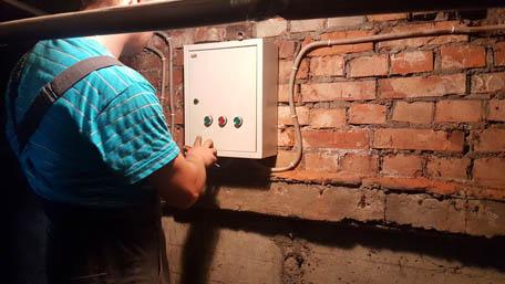 Пуско-наладочные работы по электрозадвижкам